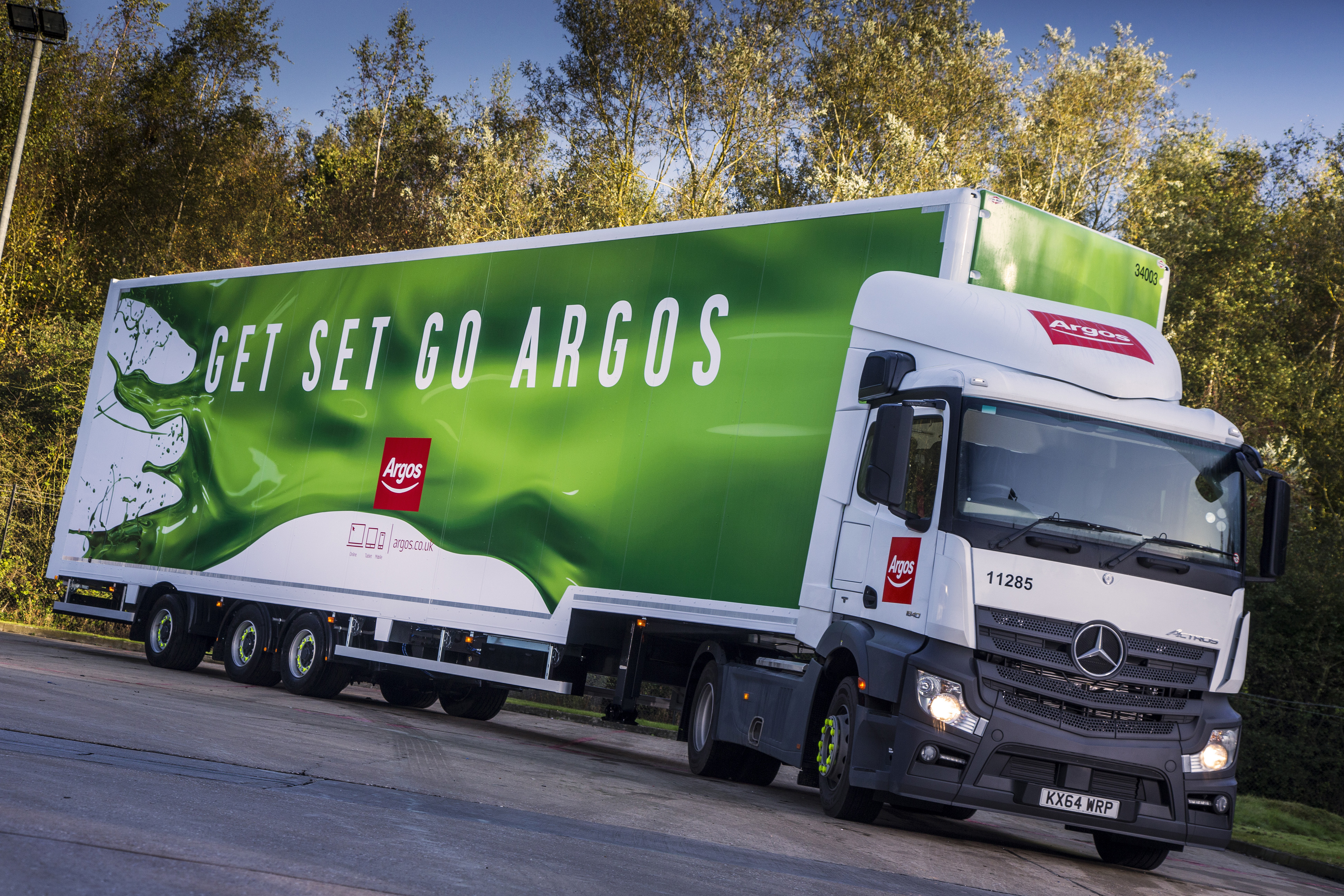 argos longer semi trailer