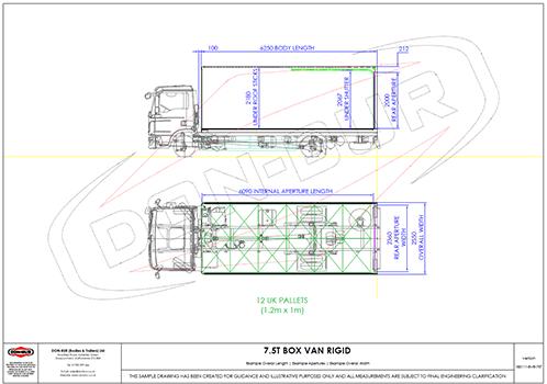 7.5T Box Van Rigid