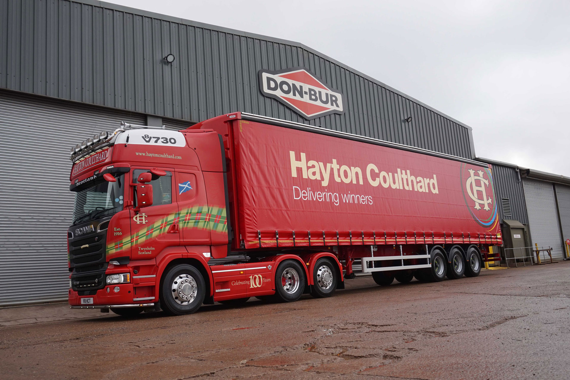 Hayton Coulthard Purchase Curtainsiders From Don-Bur