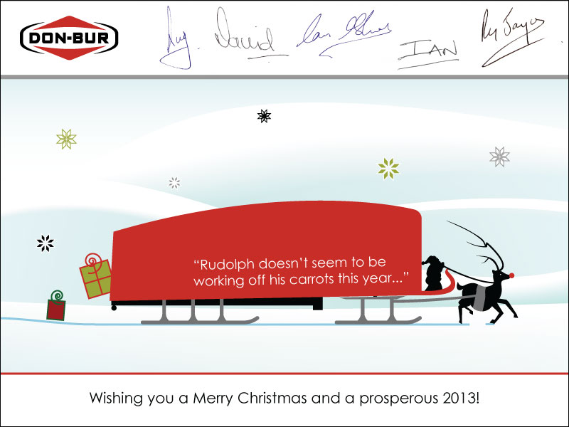 Merry Christmas From Don-Bur