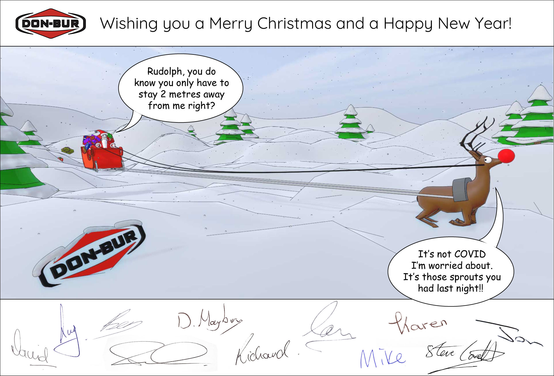 Happy Christmas 2020 from all at Don-Bur