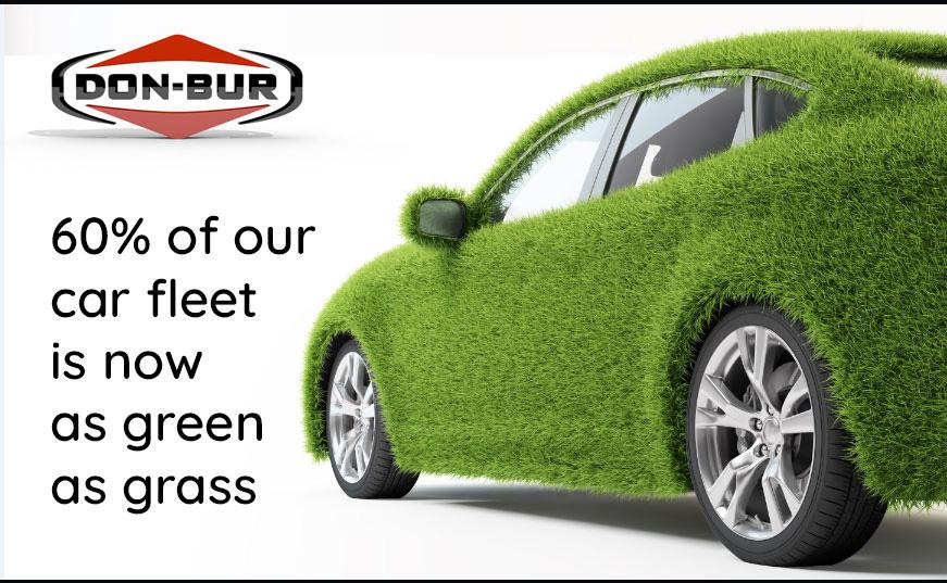 60 Percent of Don-Bur Manufacturing Car Fleet is Green