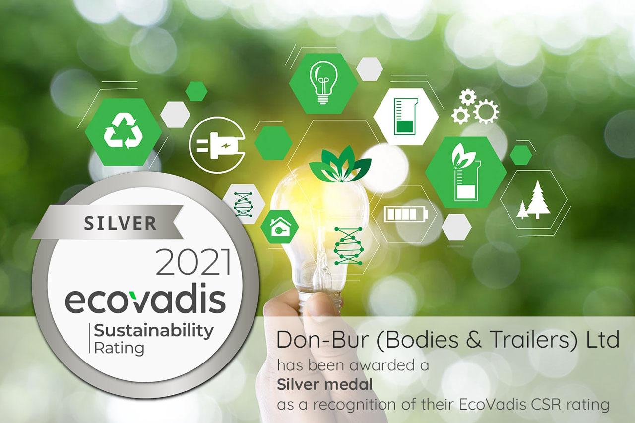 Don-Bur Awarded CSR Silver Standard