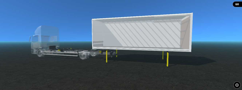 Box Van Straight Lift Demount