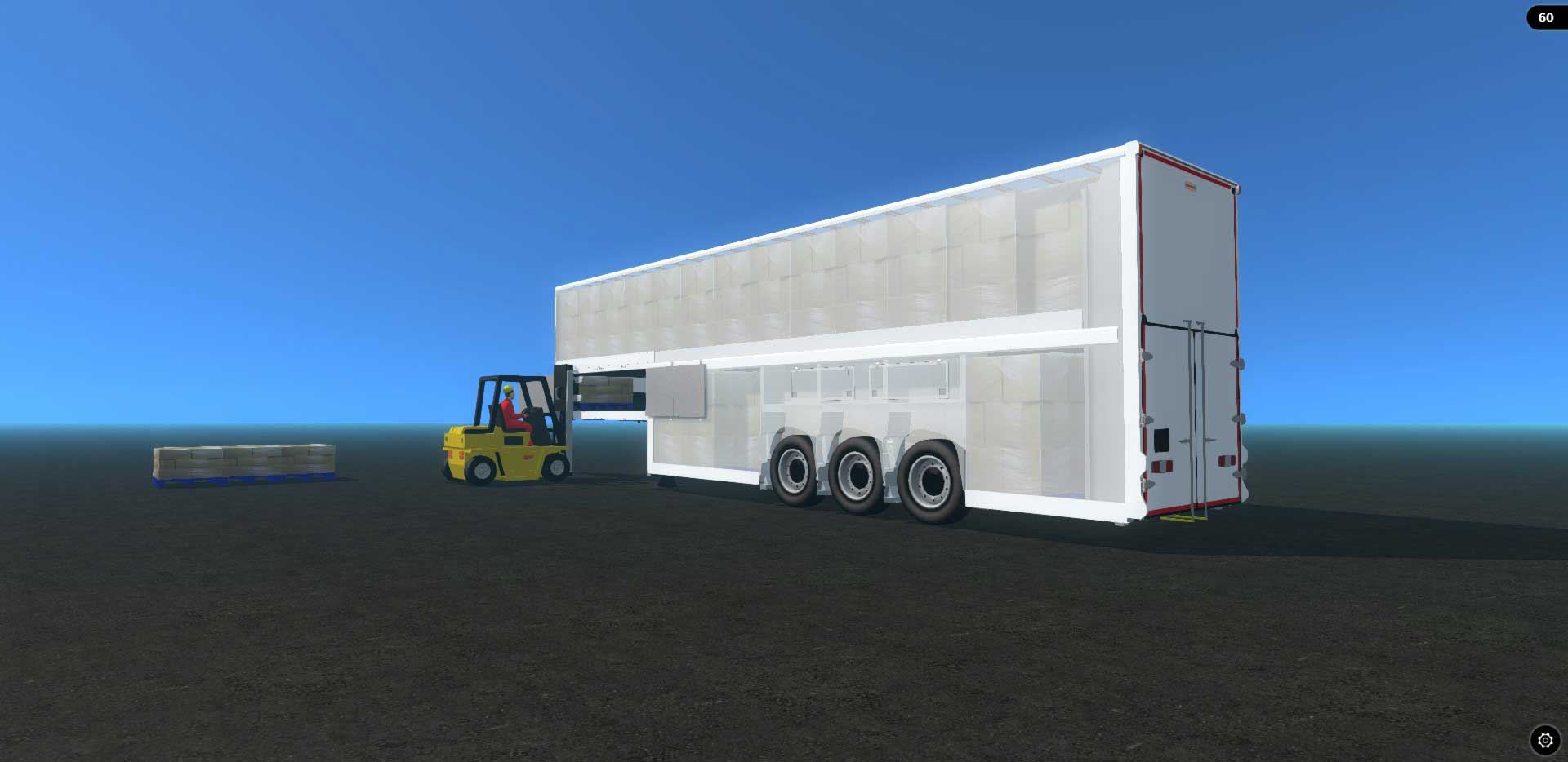 Double Deck Trailer With Indenpendent Suspension