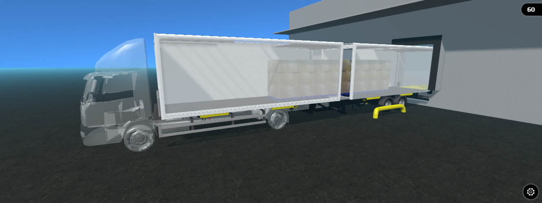 Box Van Draw-Bar Combination