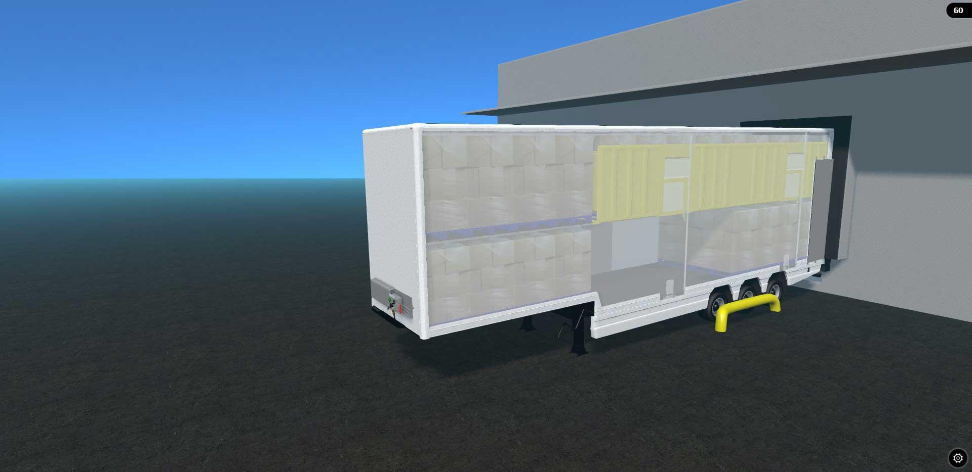 3d Lifting Deck Trailer