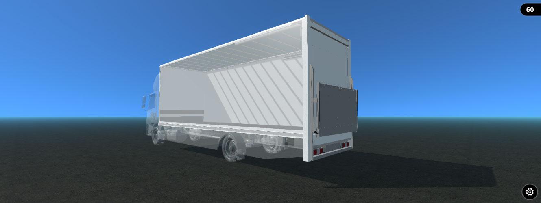 3d box van rigid