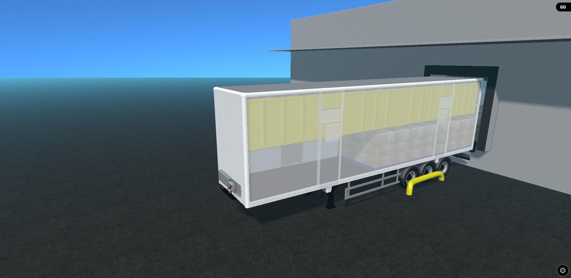 Wedge Lifting Deck Trailer