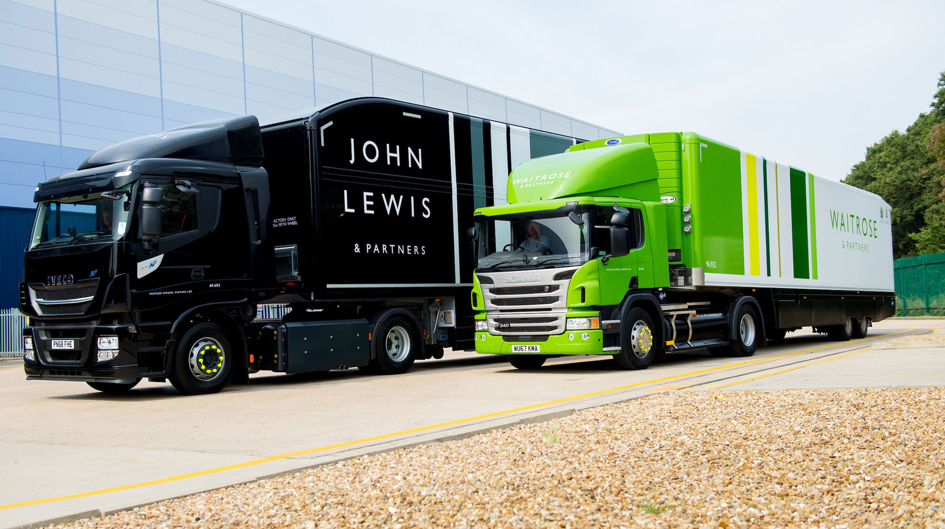 Don-Bur assist the John Lewis Partnership with rebrand of vehicle fleet