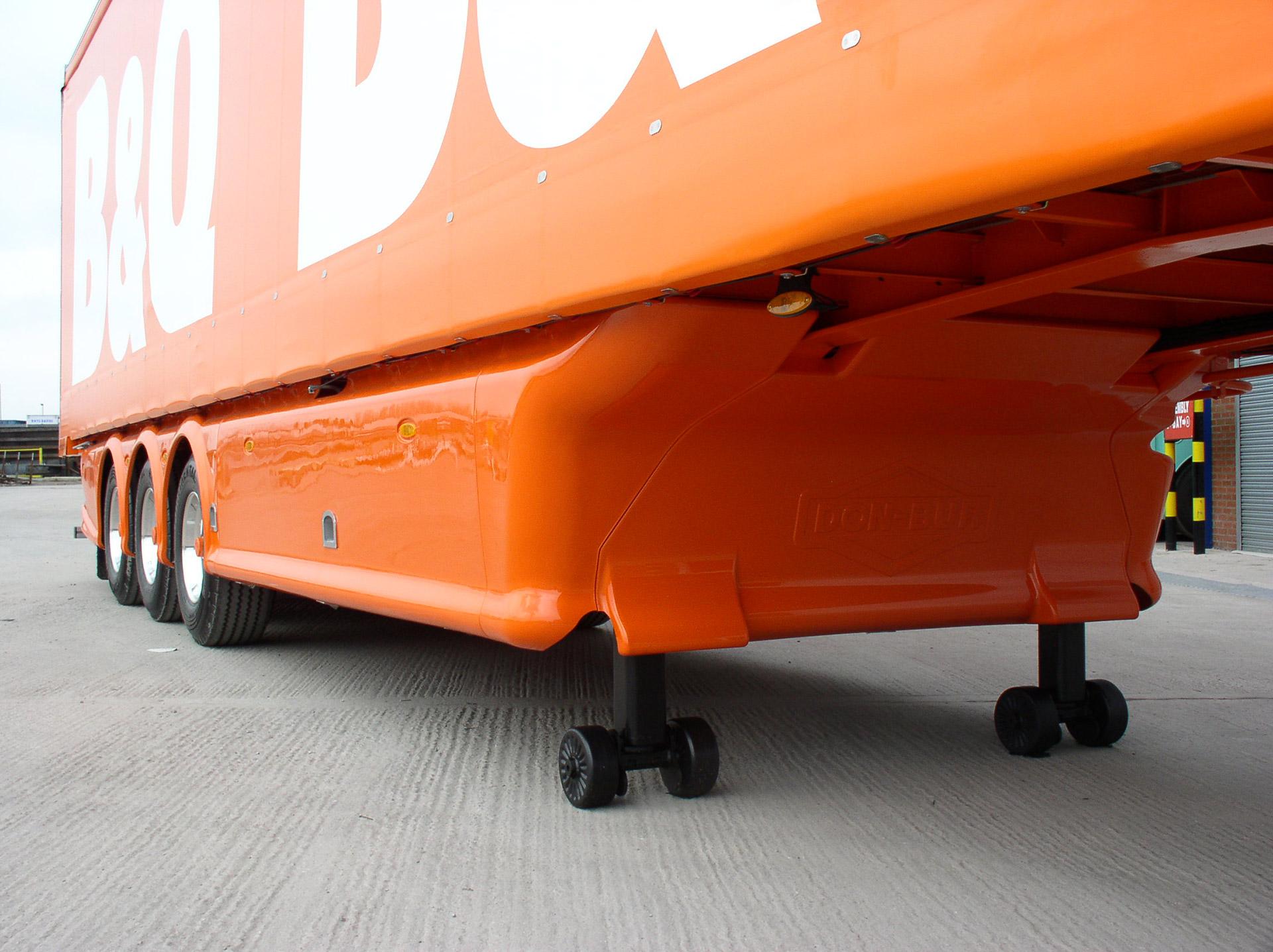 Full Wrap Aerodynamic Trailer Skirts