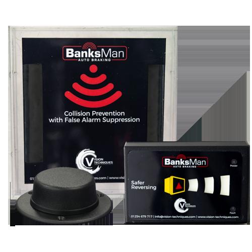 Vision Techniques BanksMan – Auto Braking Reversing Radar