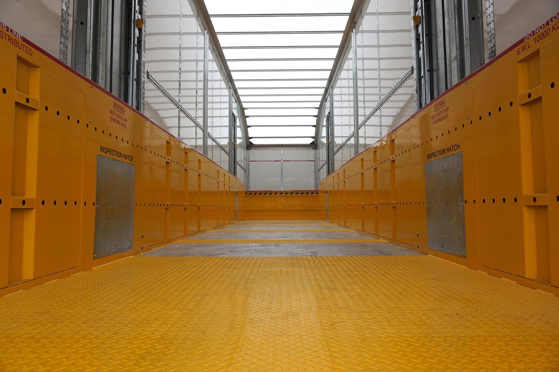 'Wedge' Lifting Decks