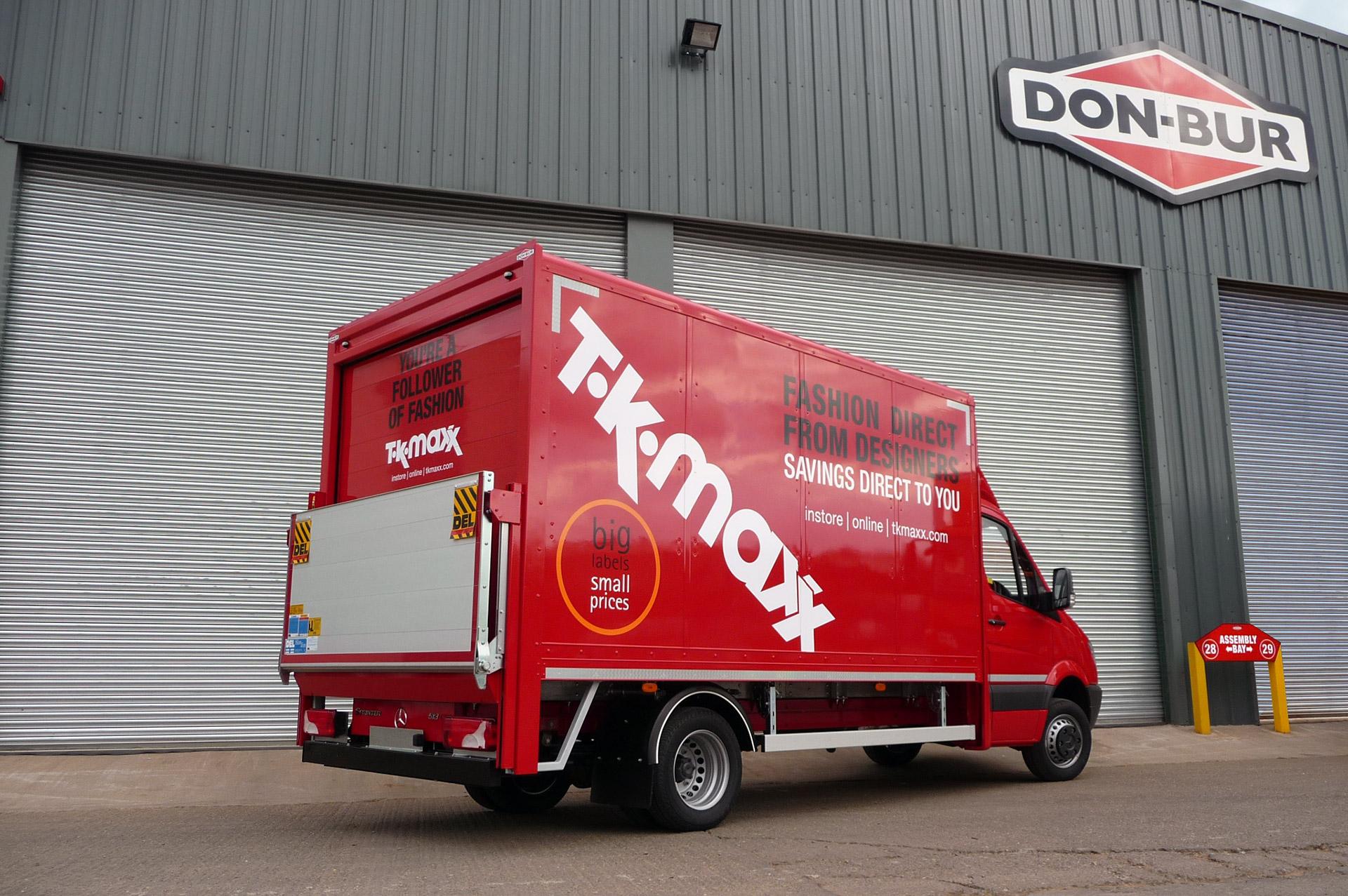 5T Box Van Rigid Bodywork