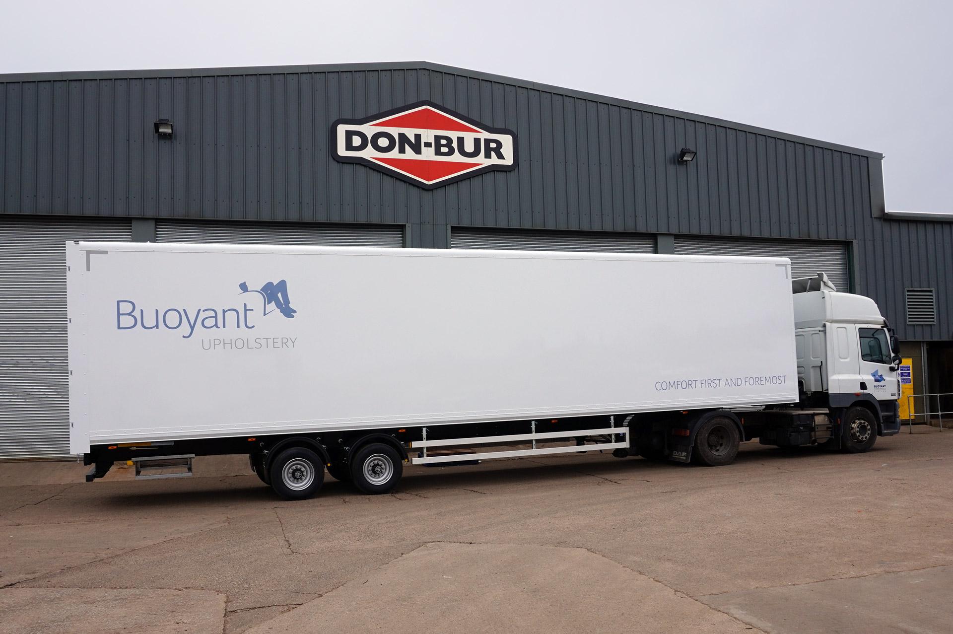 13.6m Box Van Trailer