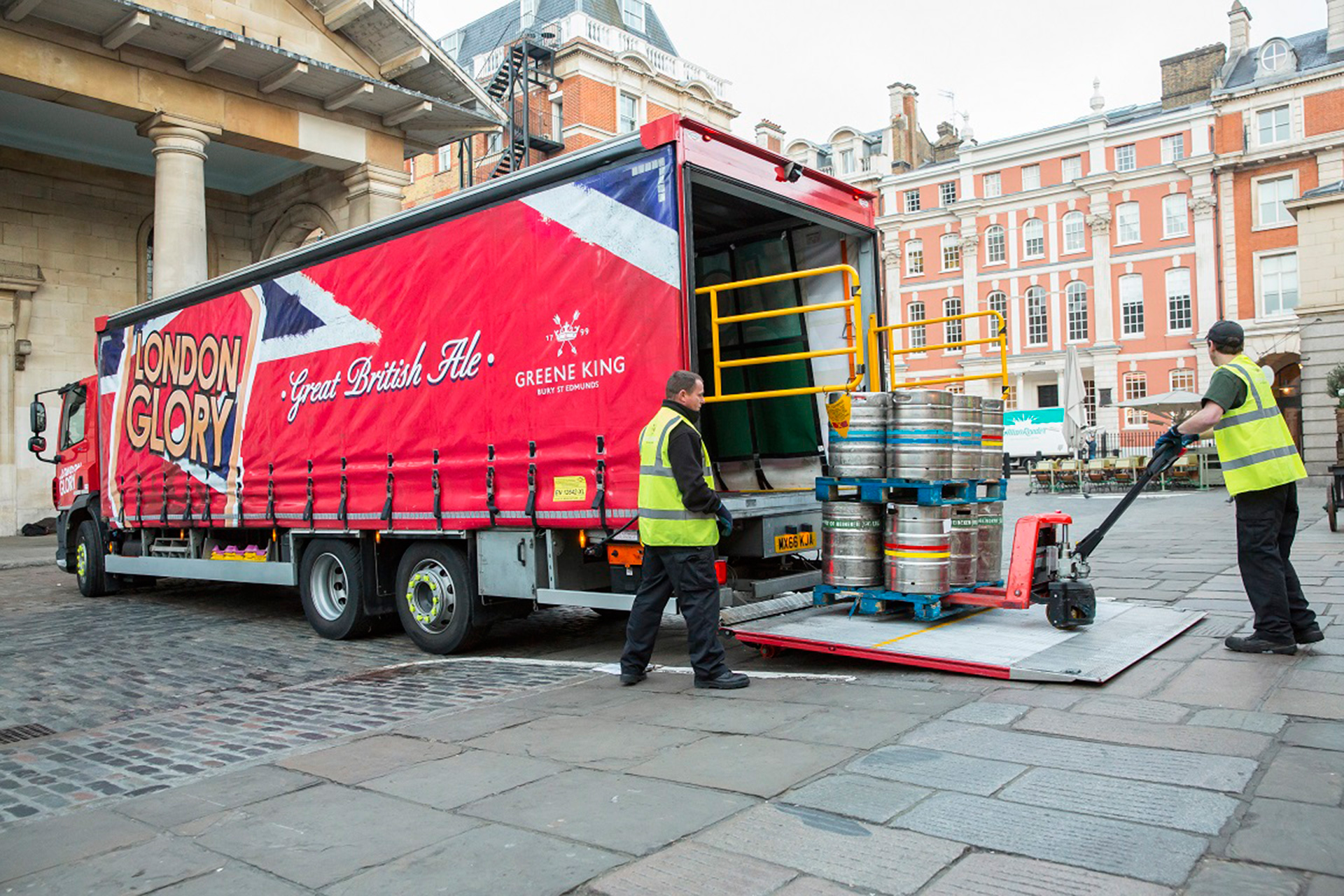 Brewery Curtainsider Rigid