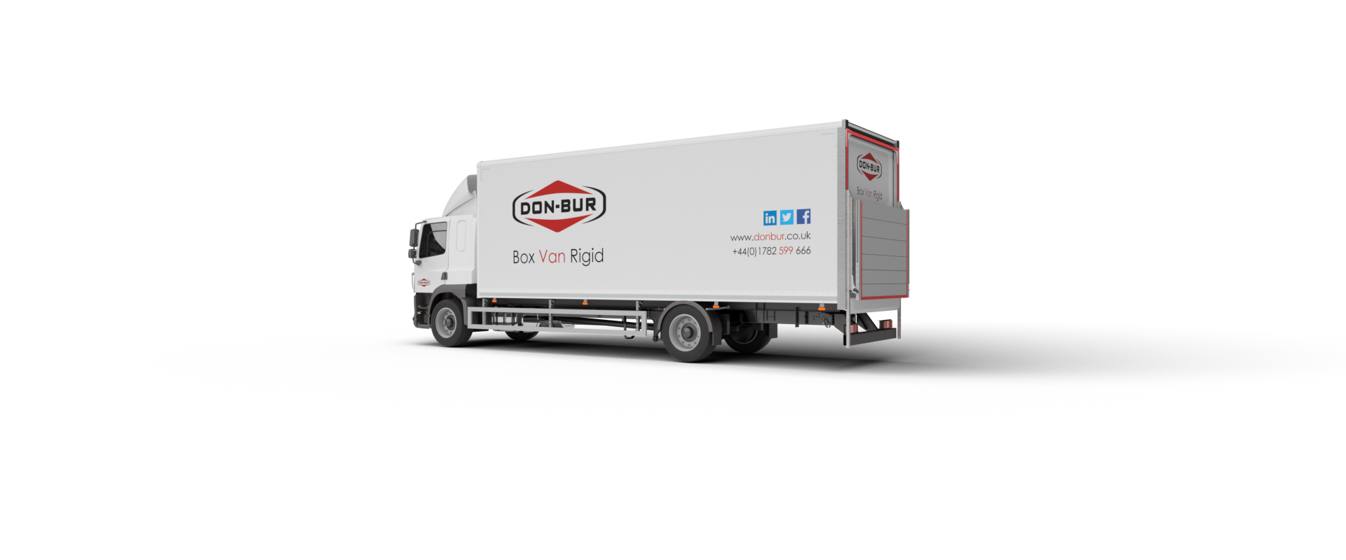 Box Van Rigid Bodywork Open