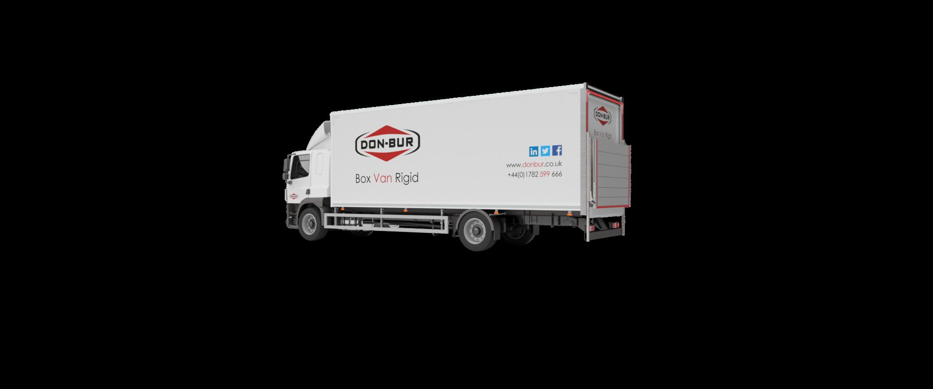 Box Van Rigid Bodywork Closed