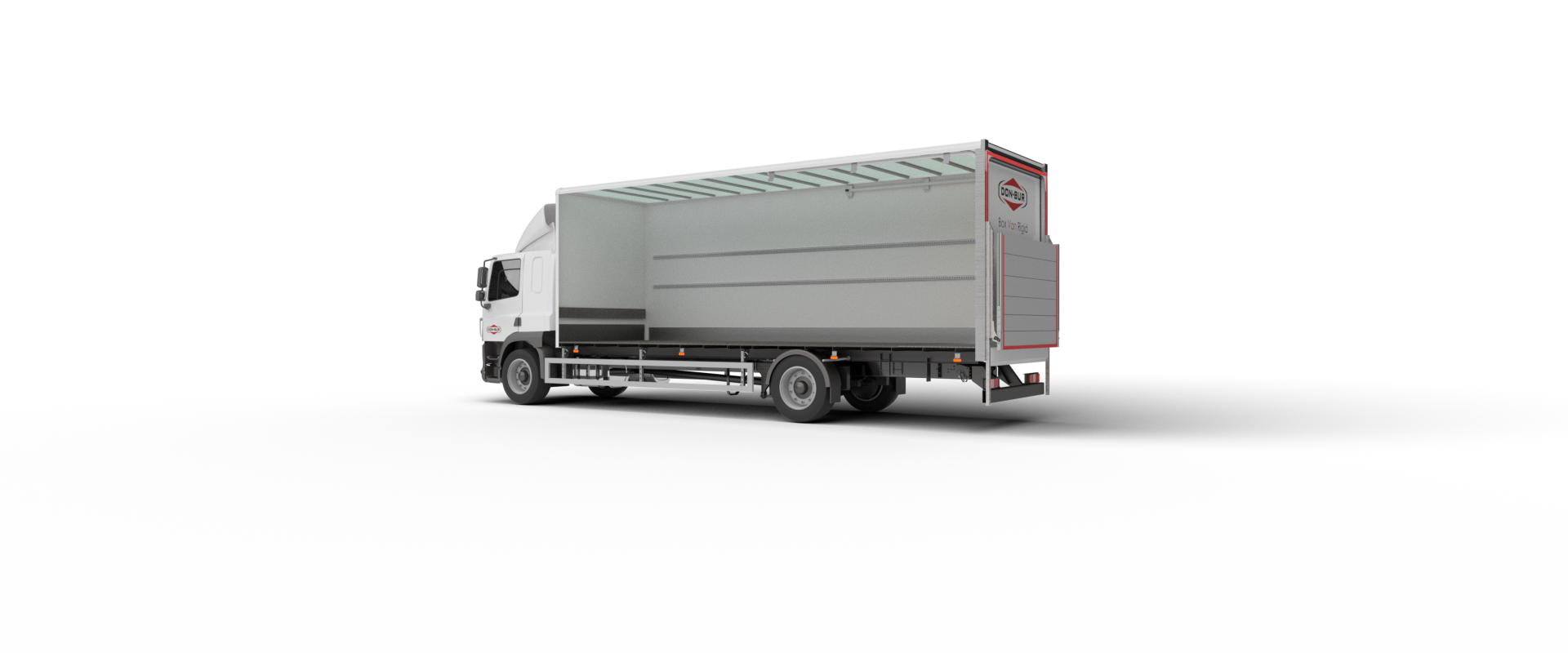 Box Van Rigid Bodywork Closed