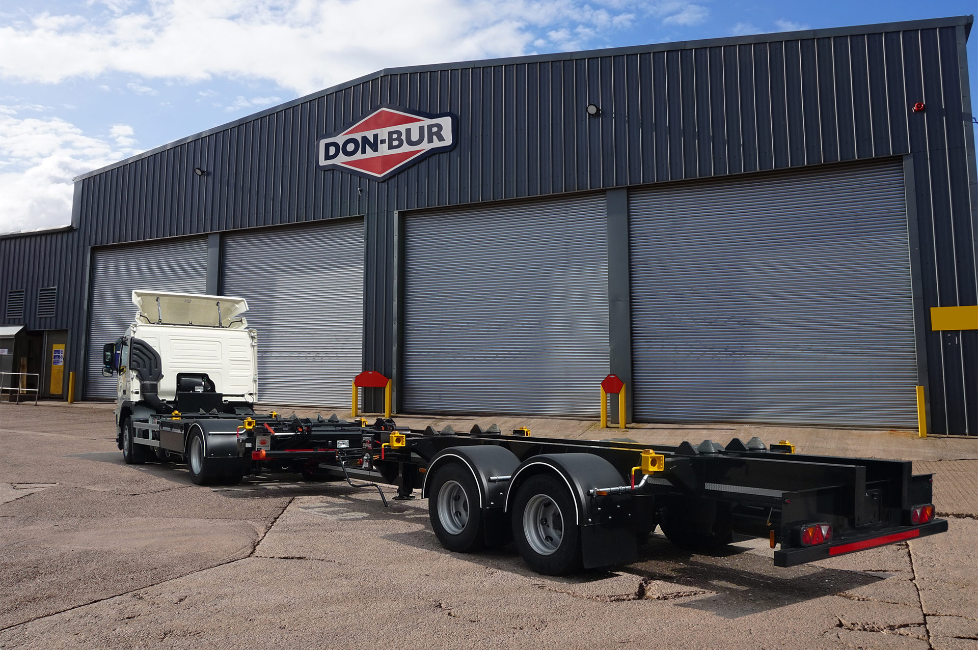 Chassis Installation & Draw Bar Trailer