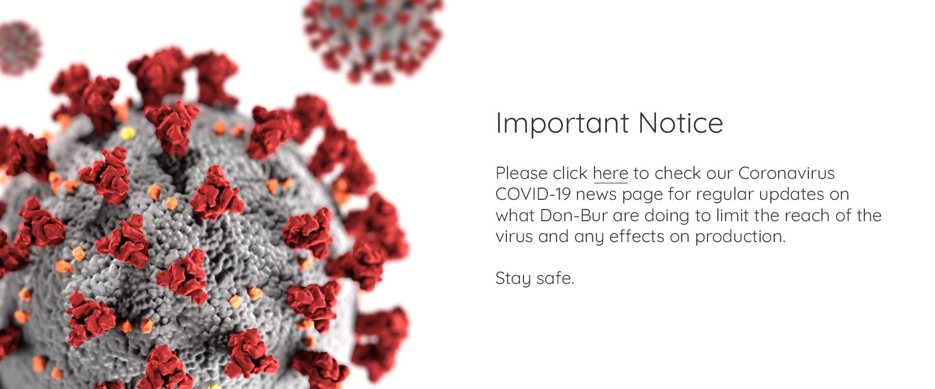 coronavirus notice