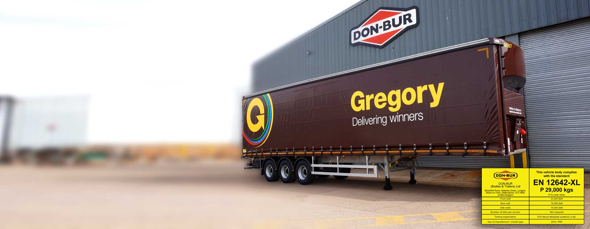 Curtainsider Trailer