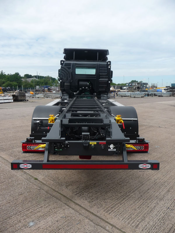 De-Mount Cab Chassis Installation Contact Type