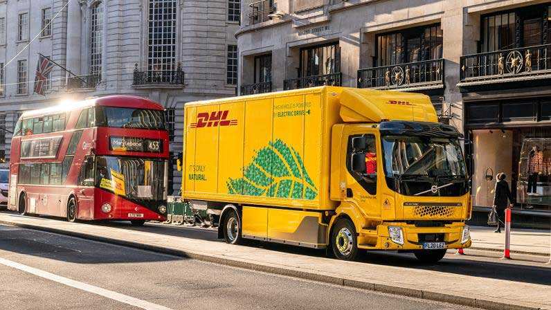 DHL Supply Chain Takes To The Road With UK's First Electric 16-Tonne Truck