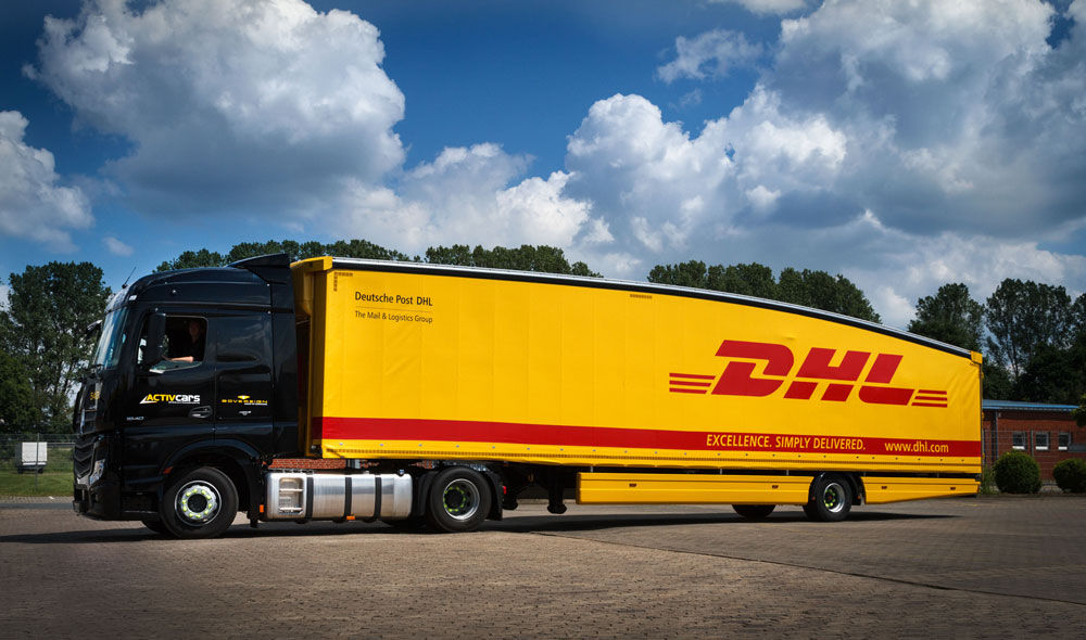 Deutsche Post DHL introduces first Teardrop Trailer in Germany and France