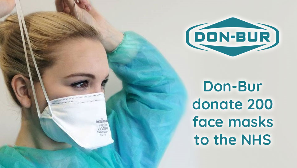 Don-Bur Donates Face Masks To NHS