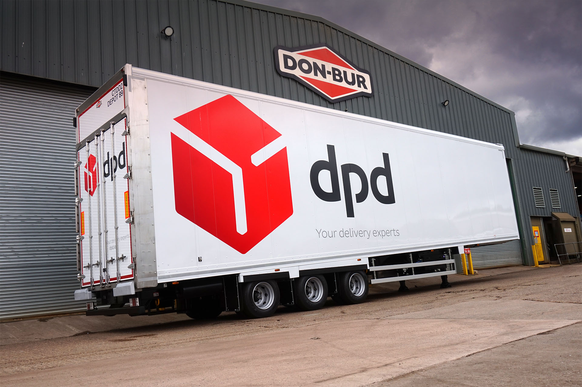 DPD 'Wedge' Lifting Deck
