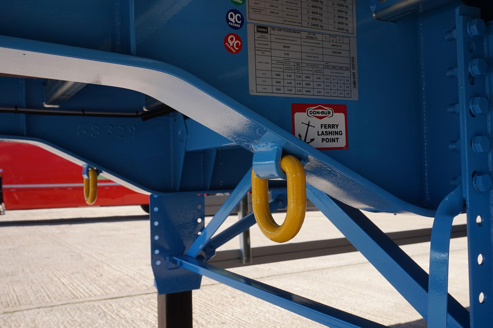 Ferry Lashing Rings
