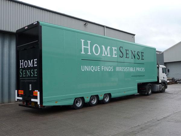 Homesense Lifting Deck Trailer