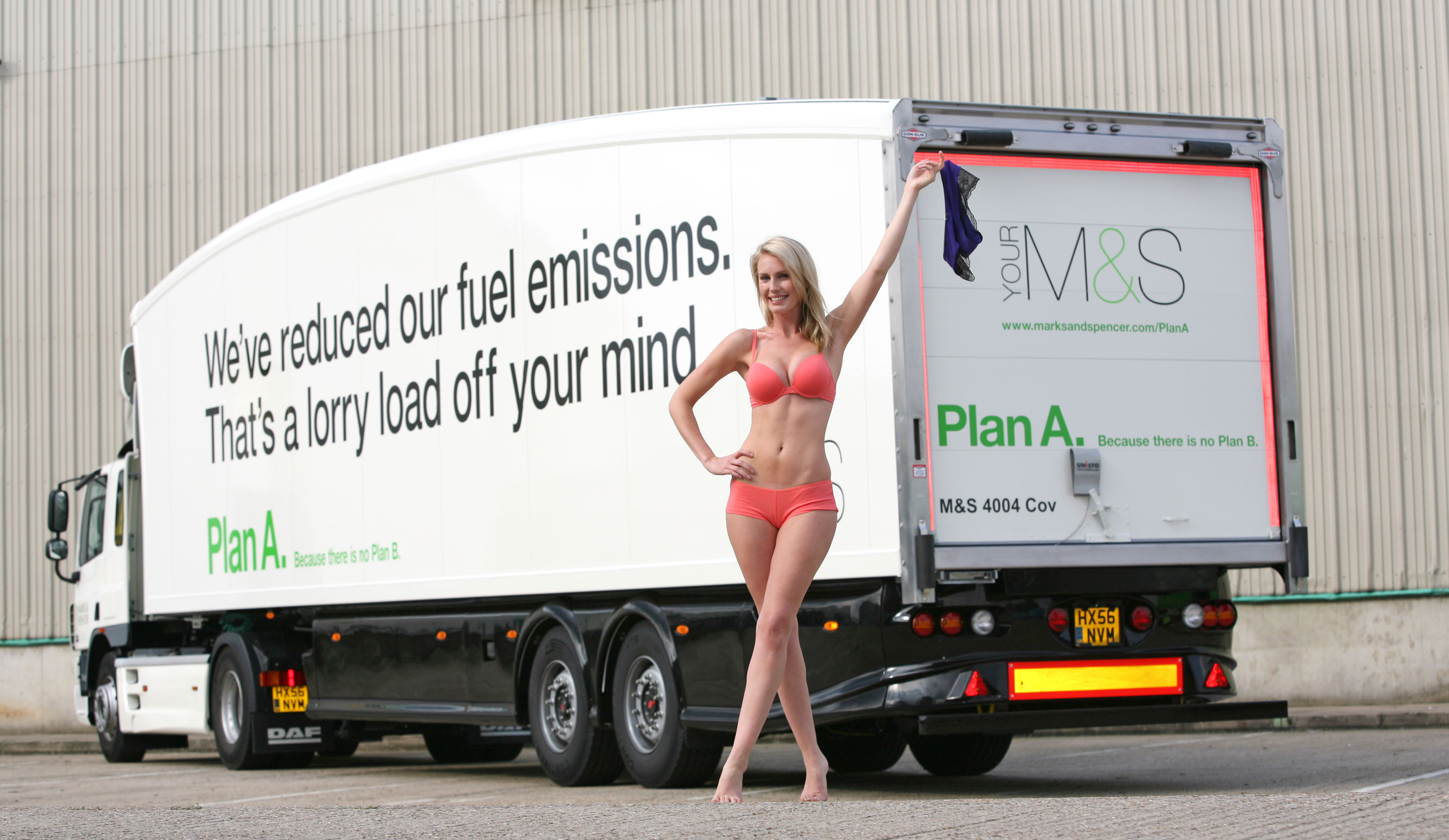 Marks And Spencer Cuts Carbon With Teardrop Trailers