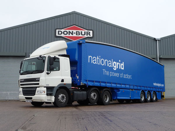 National Grid Teardrop Trailer