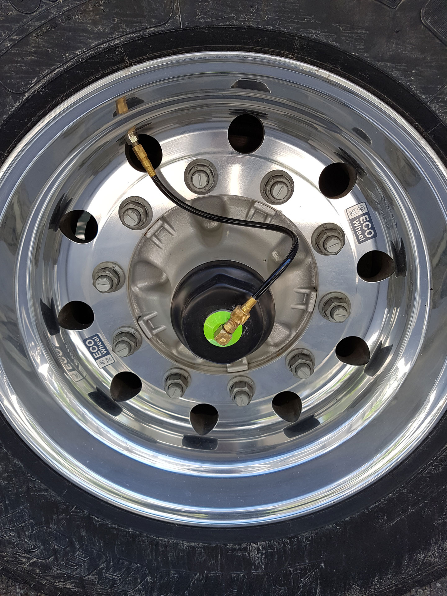 PSI Tyre Auto Inflation System