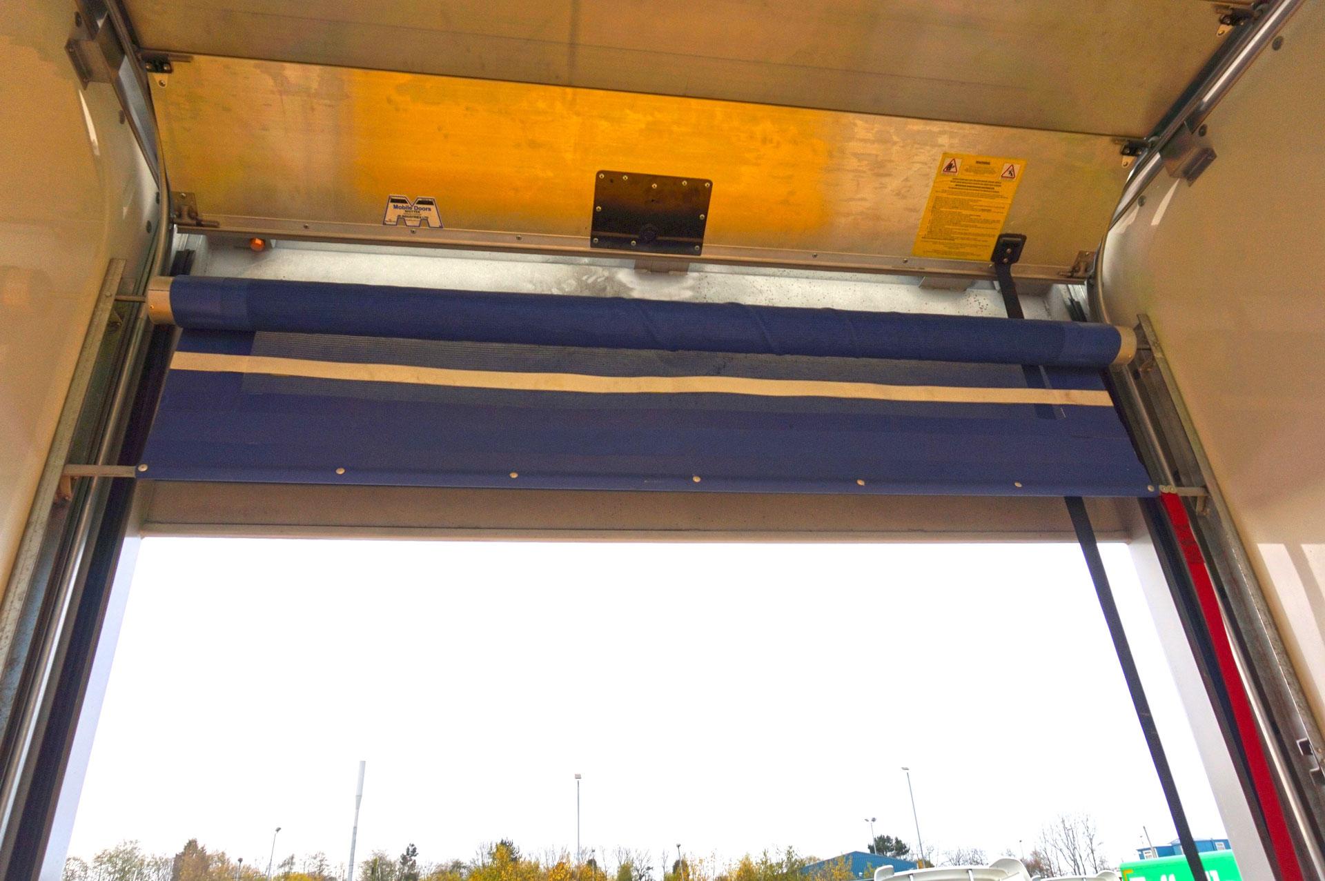 Rear Roller Transverse Load Restraint Net