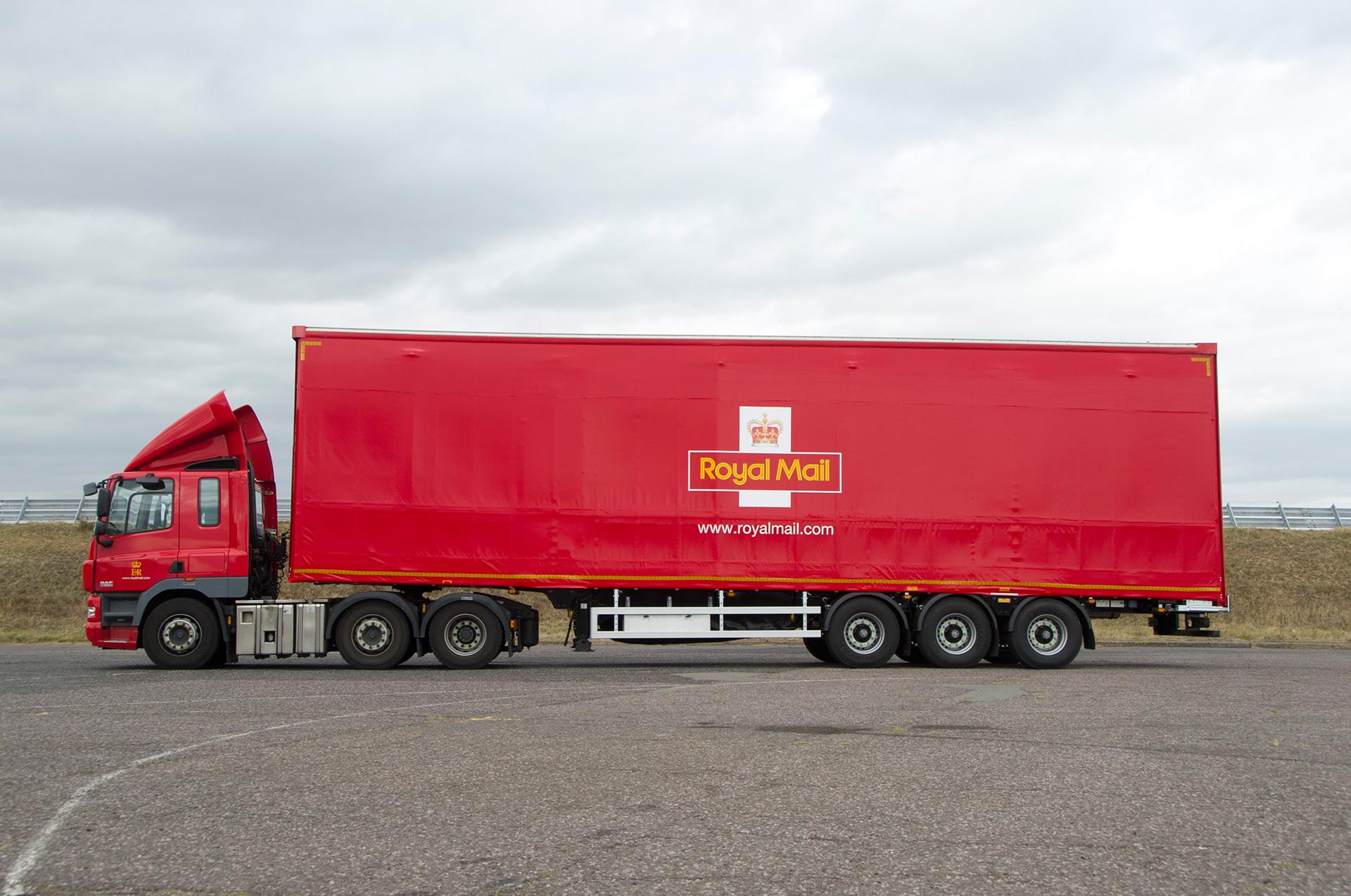 Royal Mail 'Wedge' Lifting Deck