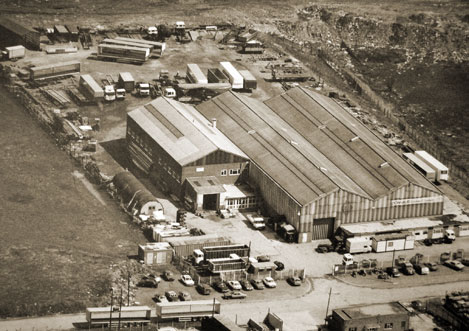 Don-Bur old site in 1981