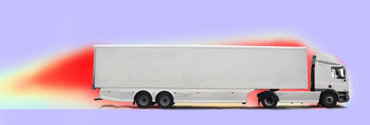 Standard trailer turlulence