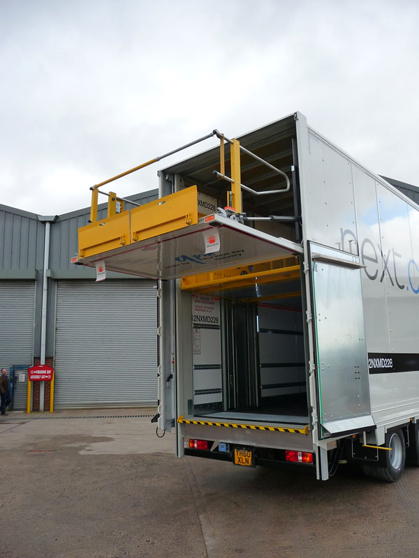 Two Tier Column Tail-Lift