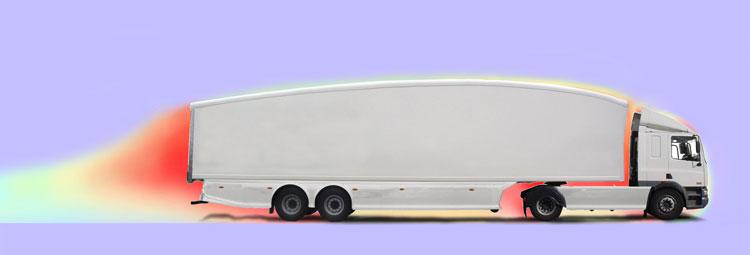 Teardrop trailer turlulence