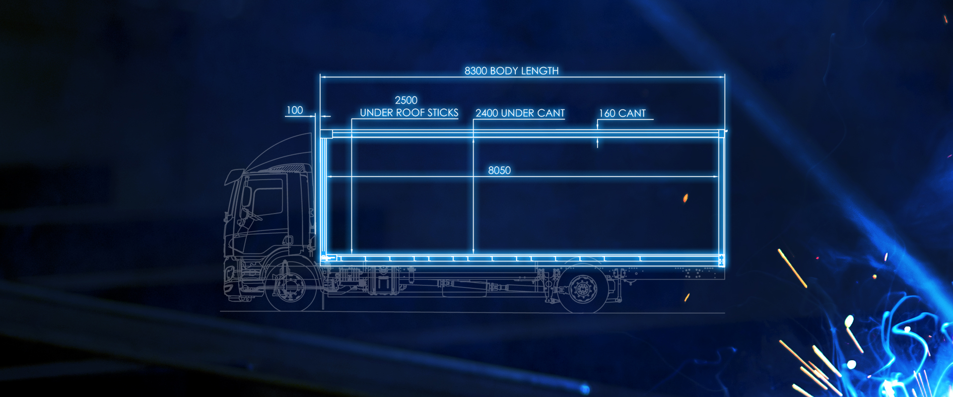 curtainsider rigid bodywork blueprint