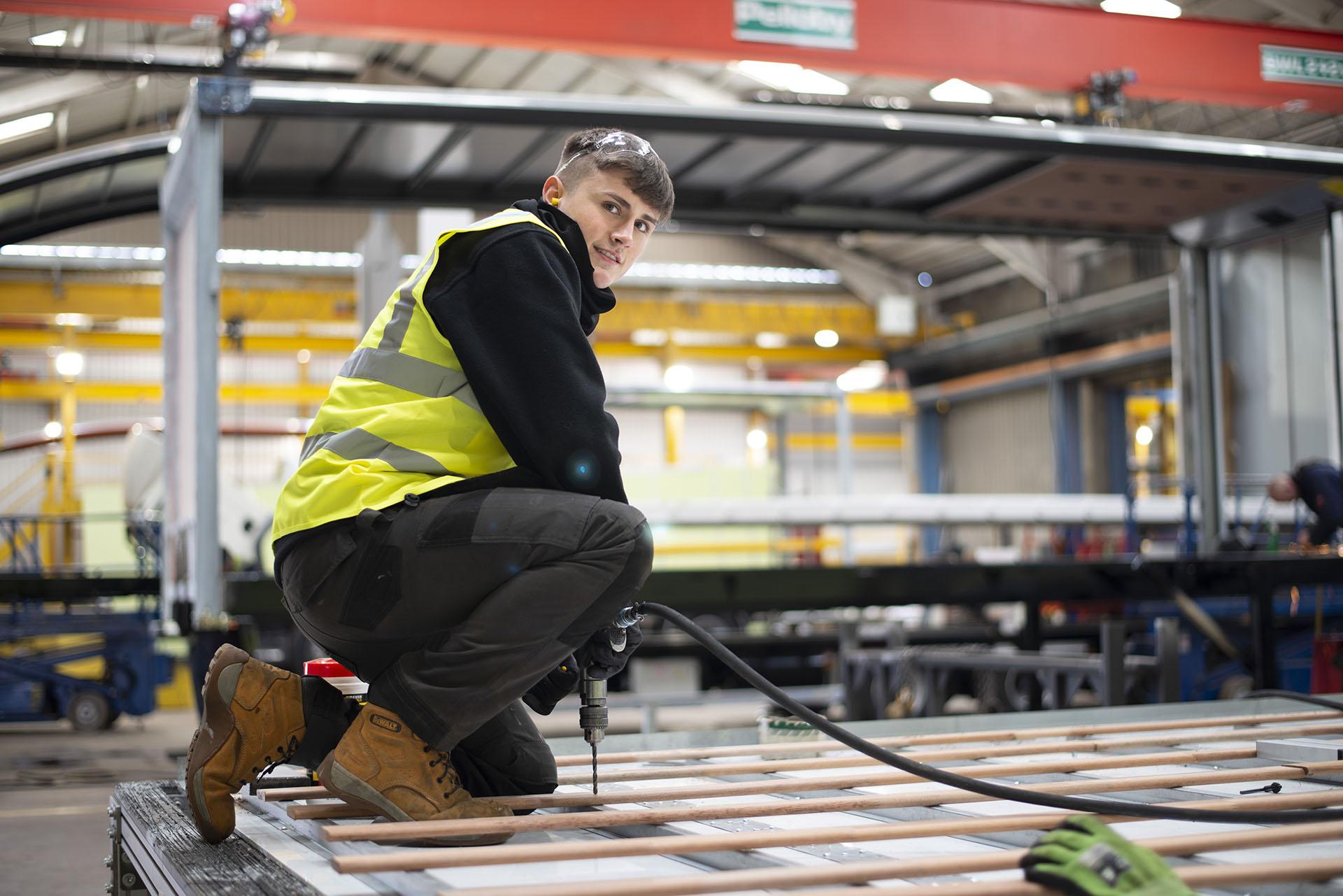 Don-Bur and North Staffs Engineering Group Develop Apprenticeship Scheme