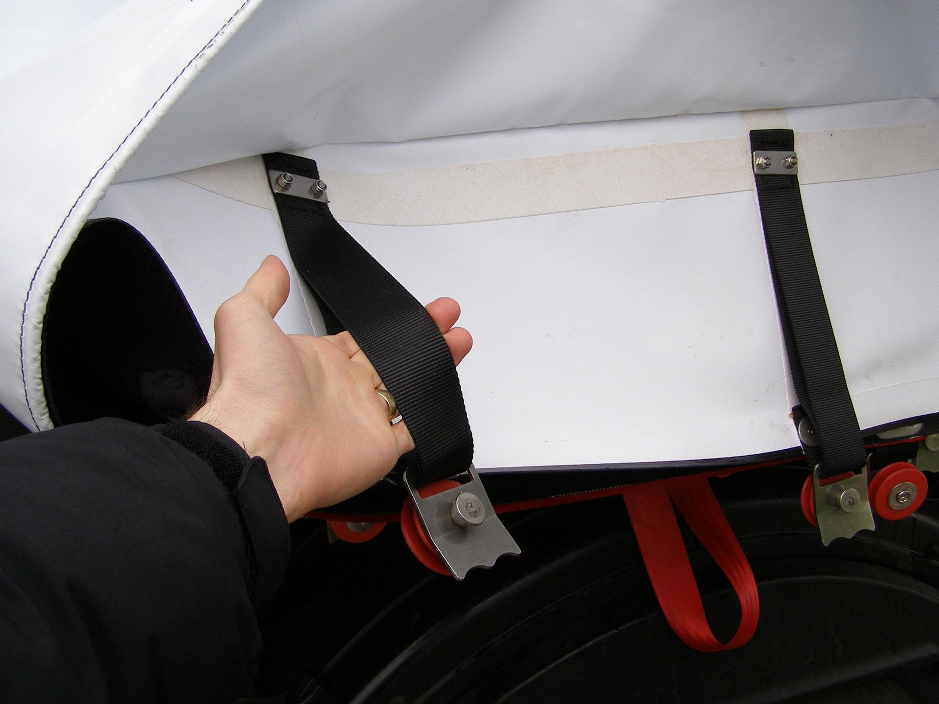 Curtain Grab-Strap Handles
