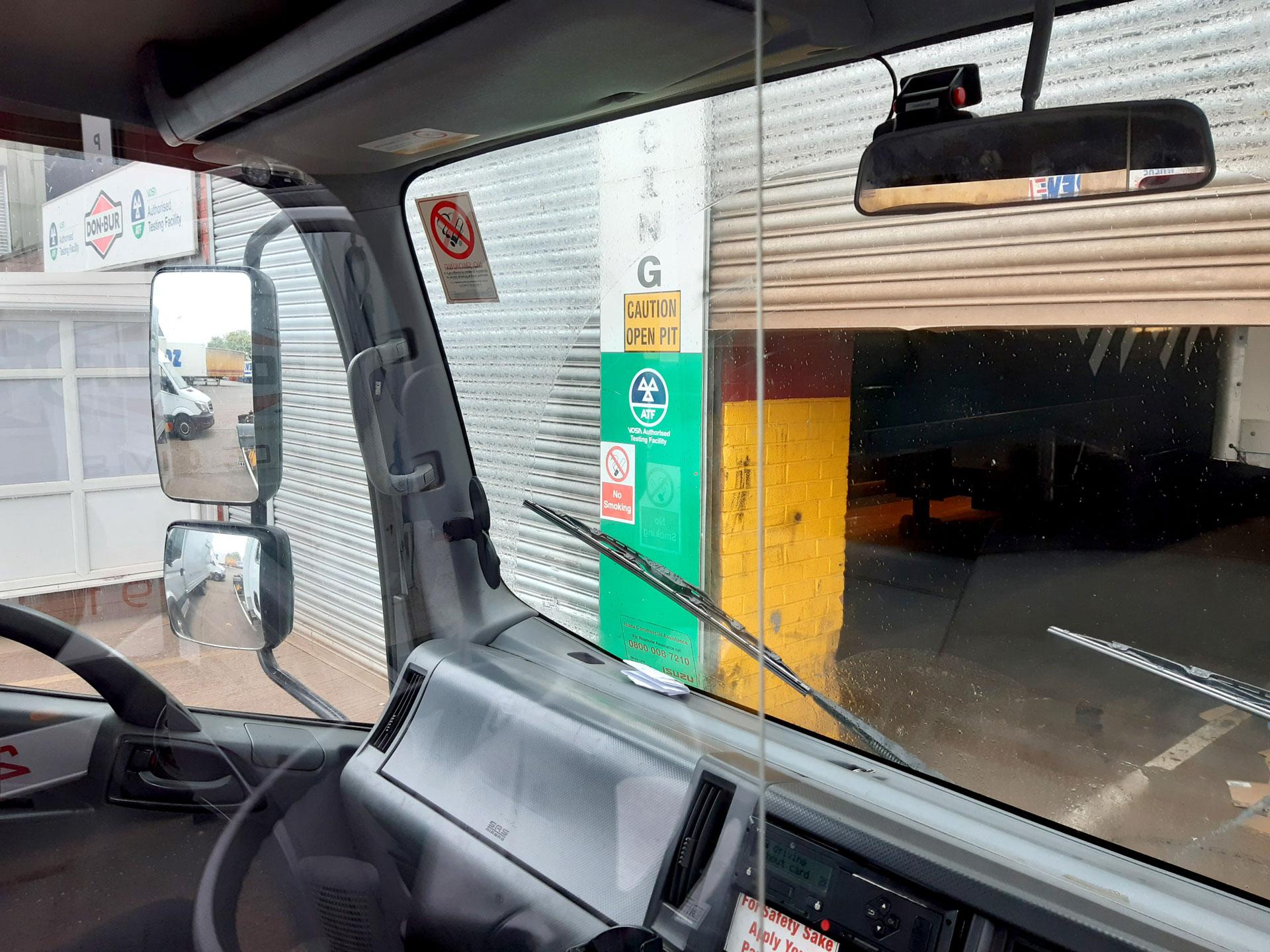 Don-Bur Retro-fit Anti-Covid-19 Truck Partition Screens