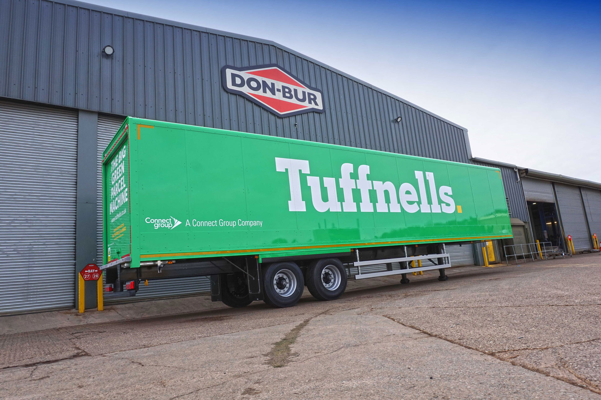 Tuffnells Teams Up With Don-Bur For Fleet Of New Semi-Trailers