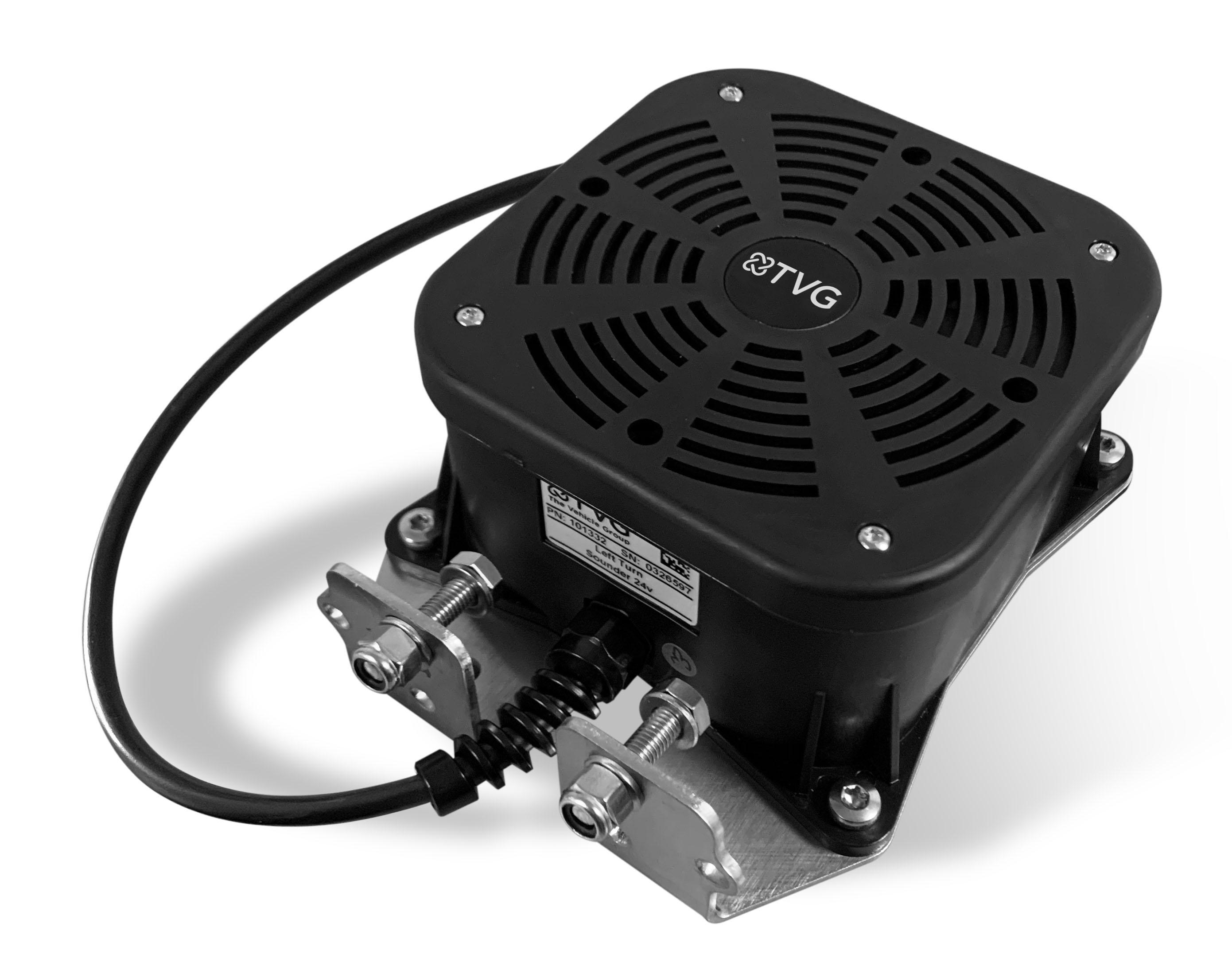 TVG CVAS - left turn speaker system
