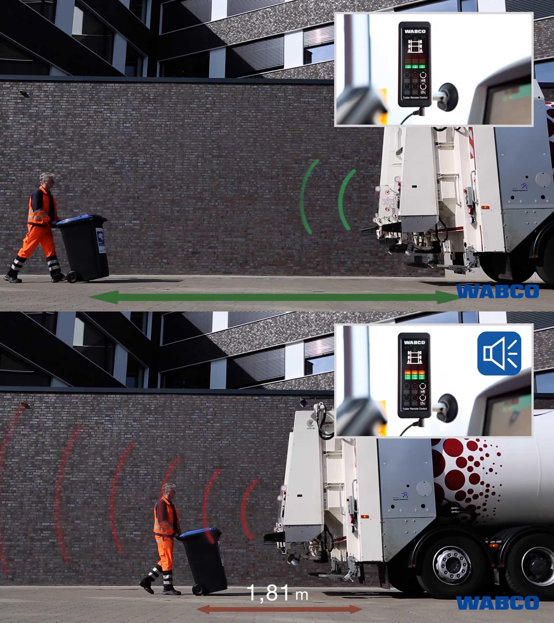 Wabco TailGUARD: Rear blind spot detection system