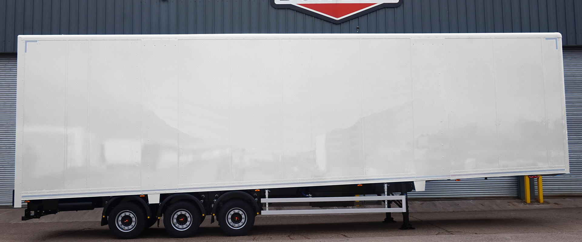 Wedge Double Deck Trailer